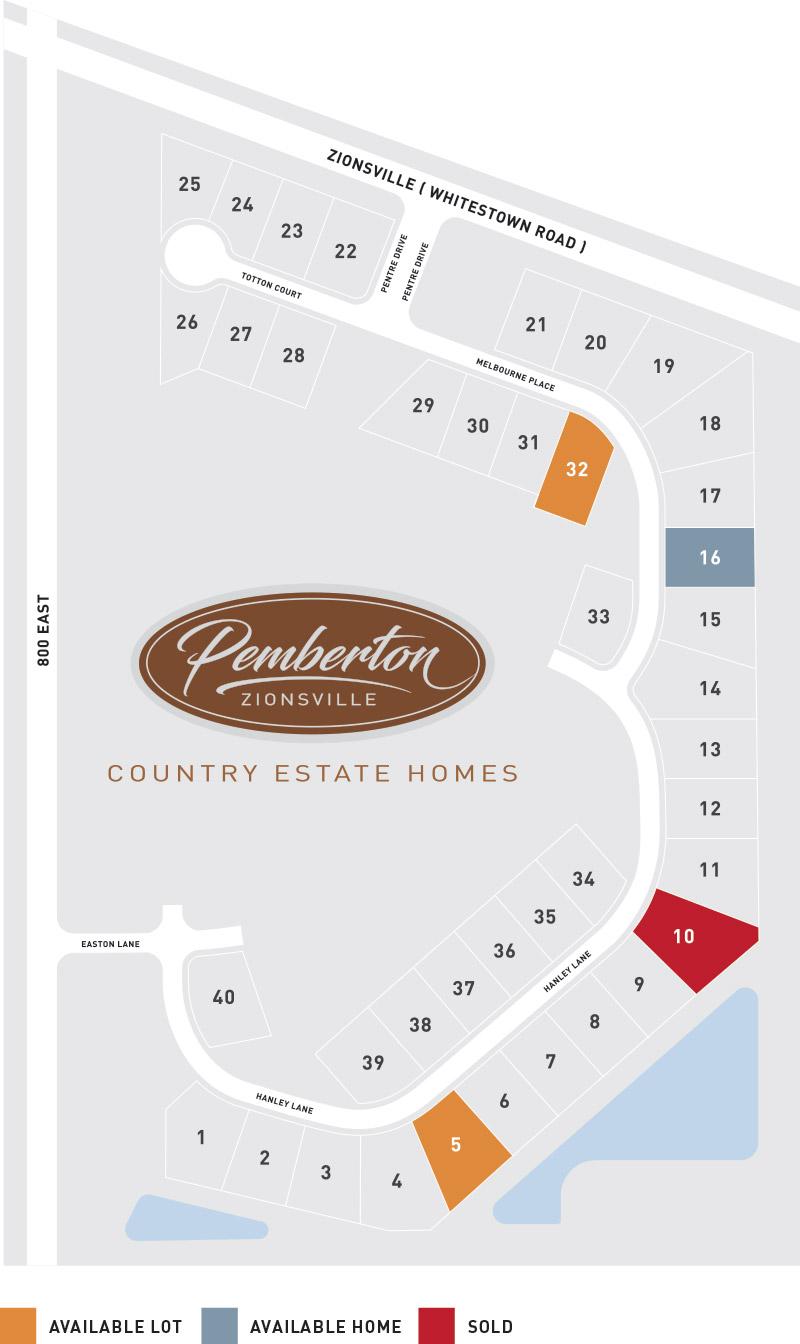 Pemberton Property Map